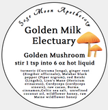 Golden Mushroom, Golden Milk Electuary