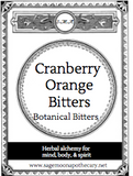 Cranberry Orange Bitters