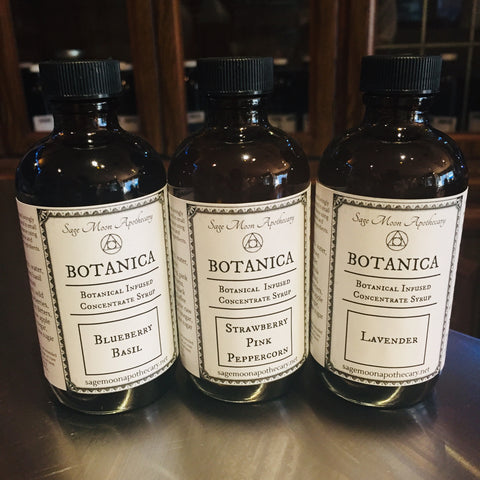 Lavender Botanical Soda Concentrate Syrup