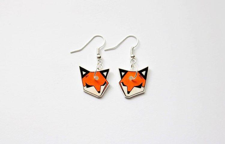 SleepyFox earrings
