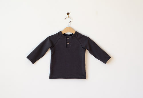 Placket neck shirt