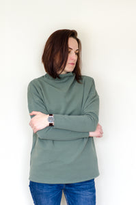 Woman's high neck sweater