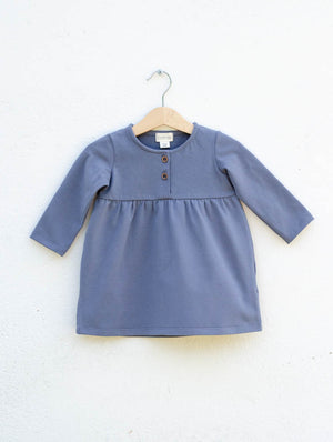 Placket neck dress Maria
