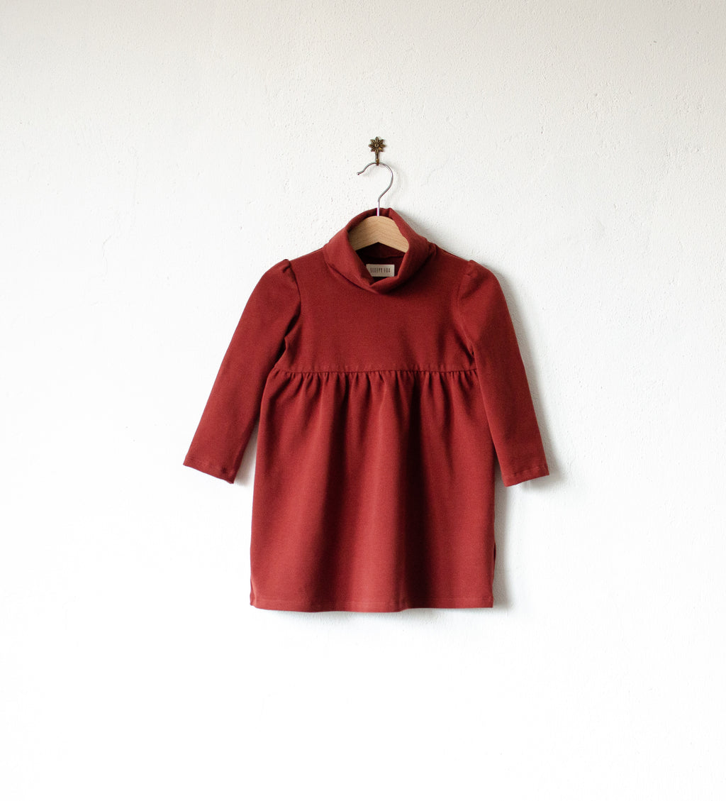 Roll neck dress Vero