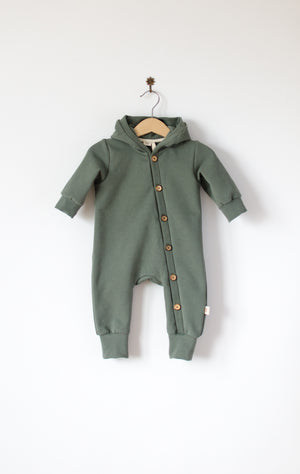 Hooded jumpsuit