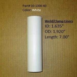 Weld/Clamp Rod Holder Liner - White