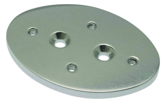 Oval Outrigger Backing Plates - each