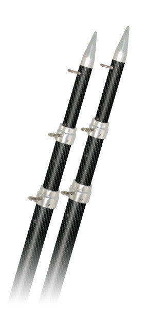 Carbon Fiber Fixed Poles - pair