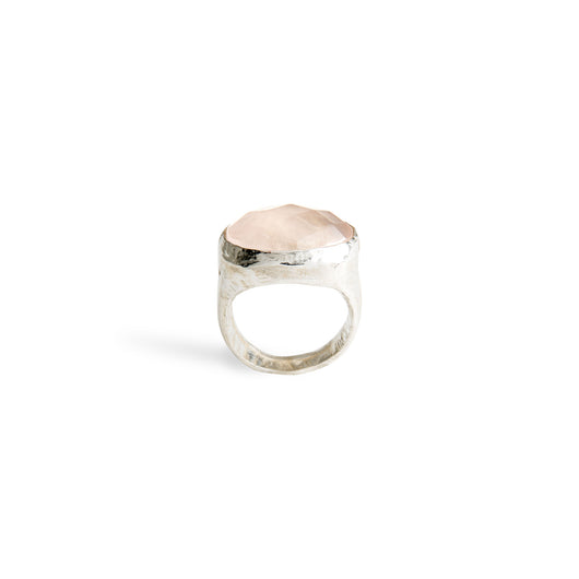 Rose Quartz Rox Ring
