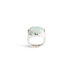 Amazonite Rox Ring