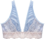 Aster Blue x Pink Long Bralette