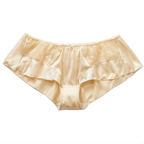 Peachy Rose Silk Flutter Panty