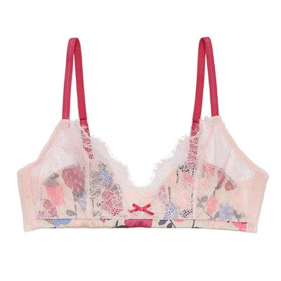 Berry Kiss Silk Bralette