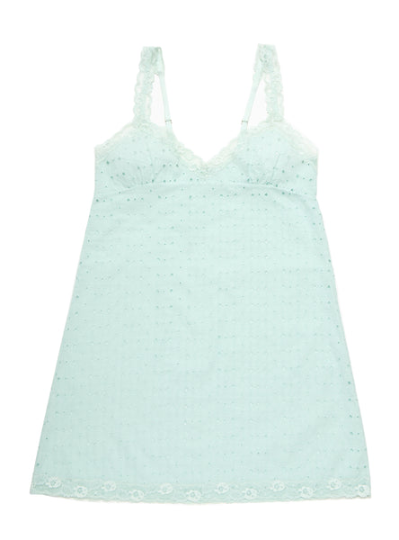 SALE Cotton Love Mint Chemise