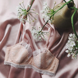 Sweet Pea Silk Rose Pink Underwire Bra