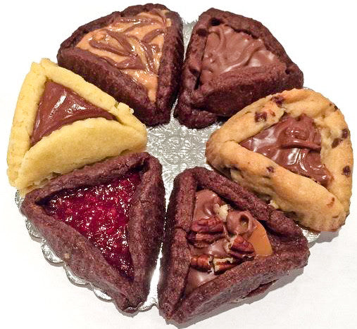 Chocolate Hamantaschen Variety Pack