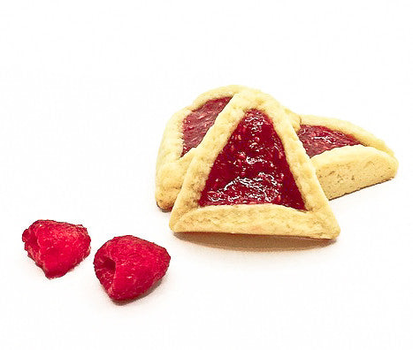 Raspberry Hamantaschen - Classic Homeys
