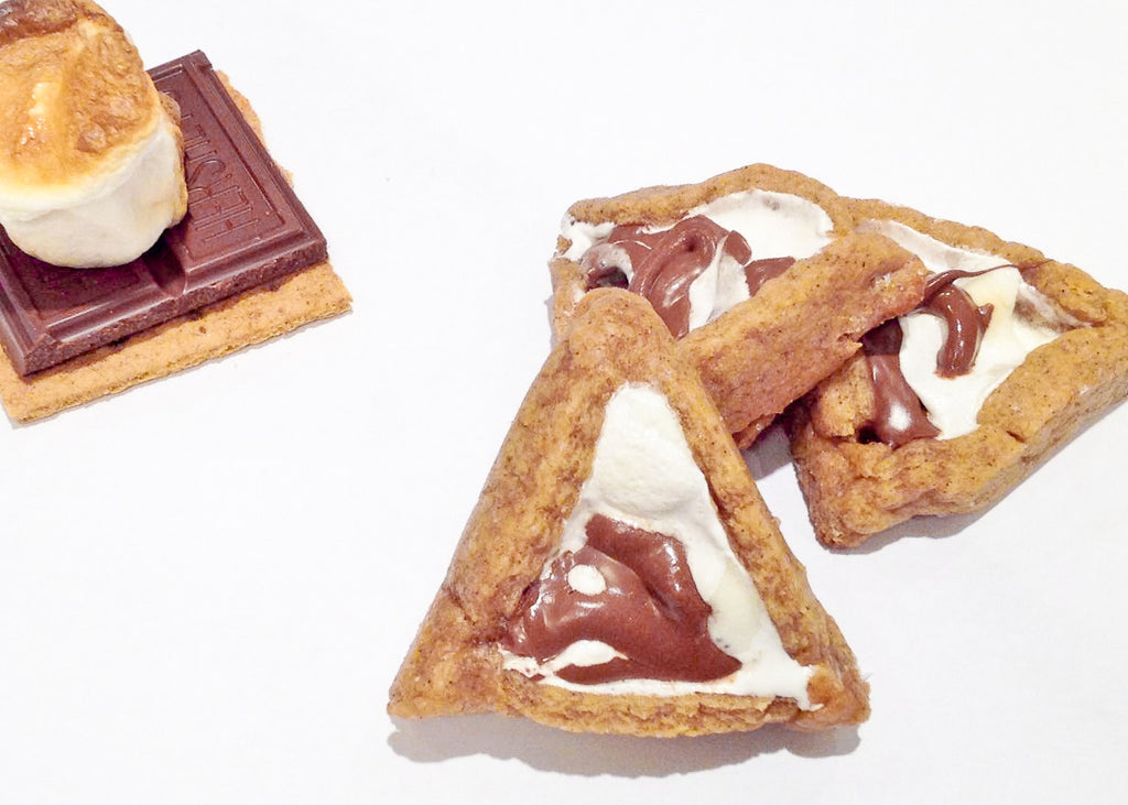 S'mores Hamantaschen - Chocolate Homeys
