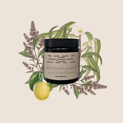 FOCUS / eucalyptus, mint + lemon / 120ml