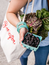 Canvas Farmers Market Tote