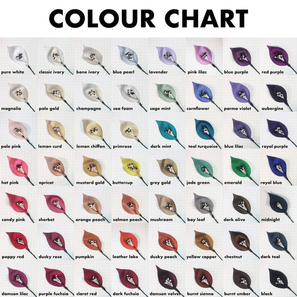 New Colour Chart!