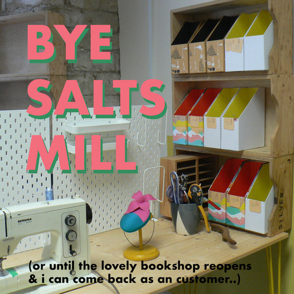 Change of Address - Bye Salts Mill