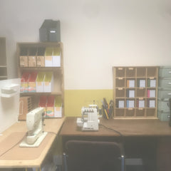 Empty desk syndrome. All shelving, no materials..