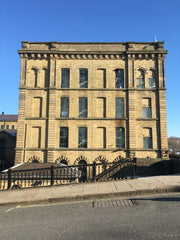 Salts Mill in the sun!