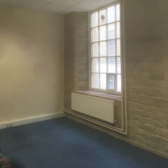 Empty office and no trace of millinery left