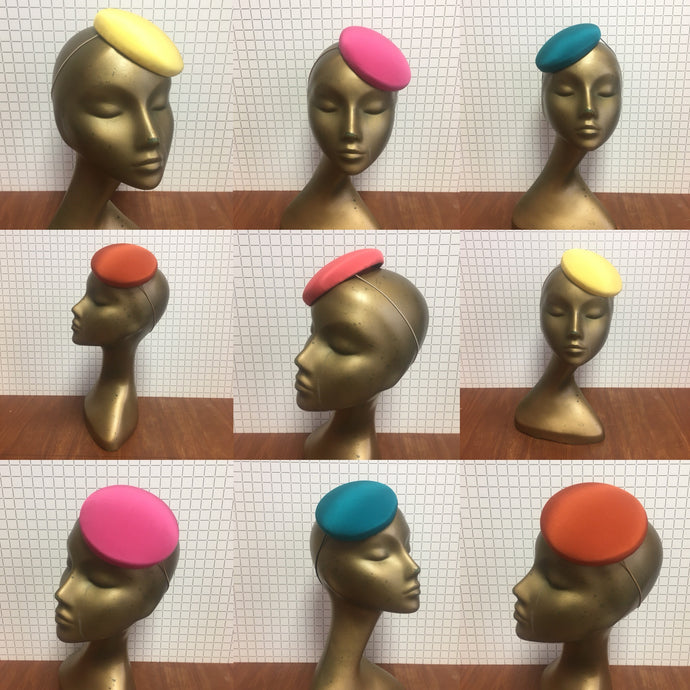 Bespoke Coloured Penny Hat