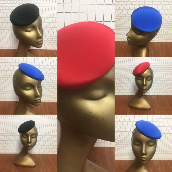 Bespoke Coloured Peggy Hat