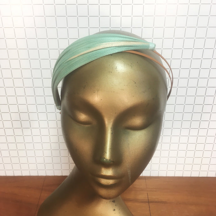 Mint & Orange Jinsin Headpiece