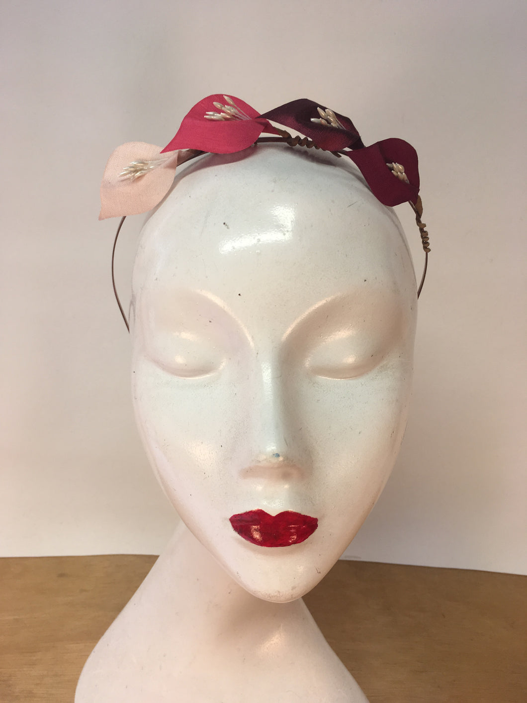 Pink Ombré Crown Colour Lily Headband
