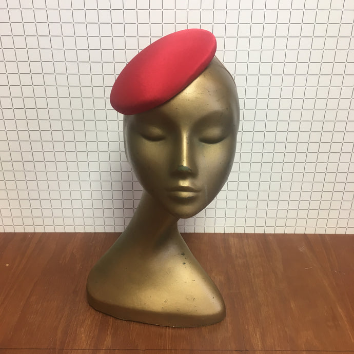 Peggy Hat in Poppy Red
