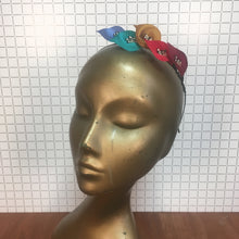 Custom Contrast Quintet Colour Lily Headband