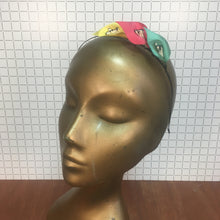 Pink, Yellow & Mint Headpiece