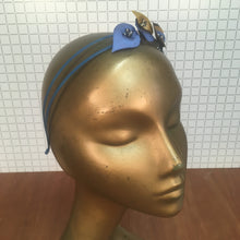 Blue & Gold Headpiece