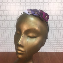 Purple & Lilac Headpiece