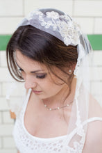 Edith - Edwardian Lace Crown & Bespoke Lace Edge