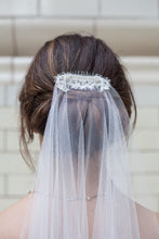 April - Comb Lace Detail & Bespoke Lace Edged Tiers