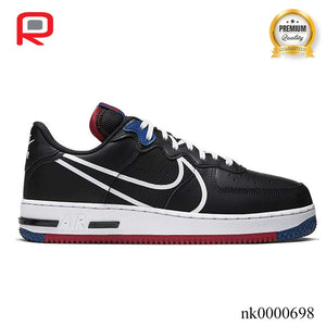 AF 1 Low React Black White Gym Red Gym Blue Shoes Sneakers