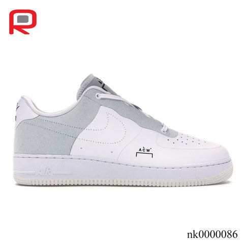 Image of AF 1 Low A Cold Wall White Shoes Sneakers