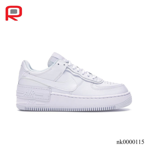 Image of AF 1 Shadow Triple White (W) Shoes Sneakers
