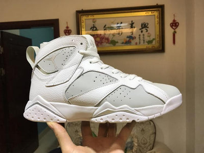 AJ 7 Retro Pure Platinum Shoes Sneakers
