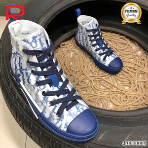 CD B23 High Top Blue Oblique Shoes Sneakers
