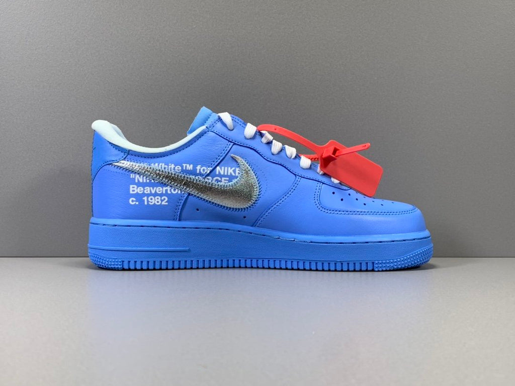 Air Force 1 Low Off White Mca University Blue Rapcrushers