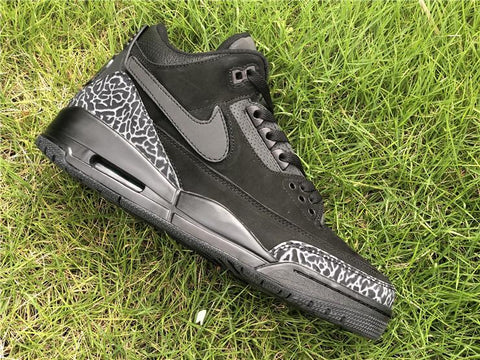 Image of AJ 3 Retro Tinker Black Cat Shoes Sneakers