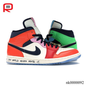 AJ 1 Mid SE Fearless Melody Ehsani (W) Shoes Sneakers