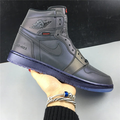 Image of AJ 1 Retro High Fearless Zoom Shoes Sneakers