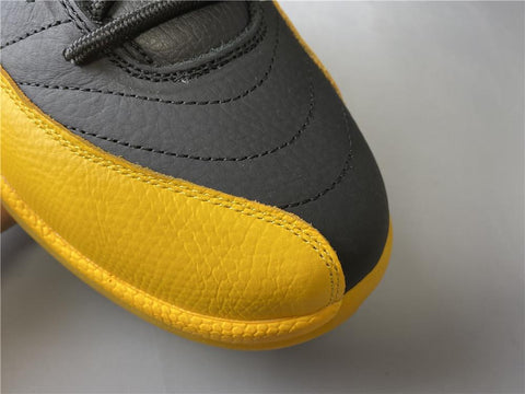 AJ 12 Retro Black University Gold Shoes Sneakers